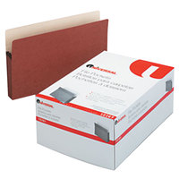 Universal UNV15161 Legal Size File Pocket - 25/Box