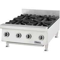 Garland GTOG36-6 Natural Gas 6 Burner 36 inch Countertop Range - 180,000 BTU