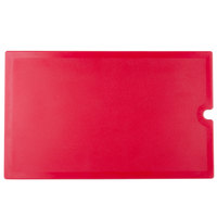 Cambro VBRWC158 Hot Red Versa Well Cover