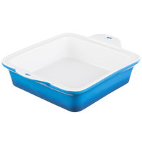 Lodge STW8SQ33 8 inch x 8 inch Square Blue Stoneware Baking Dish