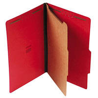 Universal UNV10213 Legal Size Classification Folder - 10/Box