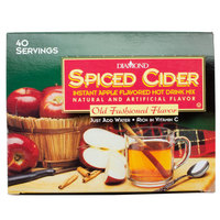 Spiced Apple Cider Hot Drink Mix Portion Pack - 40/Box