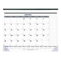 Blueline C177847 22 inch x 17 inch Monthly January 2020 - December 2020 Net Zero Carbon Desk Pad Calendar
