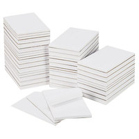 Universal UNV35625 5 inch x 8 inch Unruled White Scratch Pad 100 Sheets - 64/Case