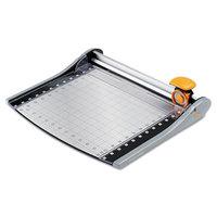 Fiskars 01005419J SureCut 14 inch x 18 inch 12 Sheet LED Rotary Paper Trimmer