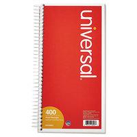 Universal UNV48003 Wirebound Message Book, 5 inch x 3 3/8 inch 2-Part Carbonless, 400-Set Book