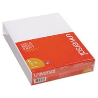 Universal UNV35618 Unruled White Scratch Pad, Letter 100 Sheets - 6/Pack