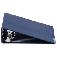 Universal UNV30408 Royal Blue Economy Non-Stick Non-View Binder with 3 inch Round Rings