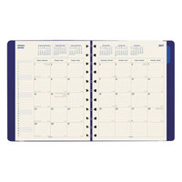 Filofax C1811002 8 1/2 inch x 10 3/4 inch Blue 2018 - 2019 Monthly Planner