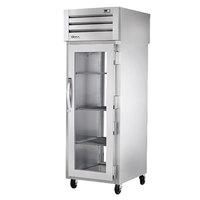 True STA1RPT-1G-1G-HC Specification Series 27 1/2 inch Glass Door Pass-Through Refrigerator