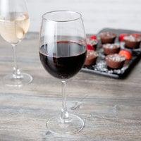 Acopa 16.5 oz. Flora Wine Glass - 12/Case