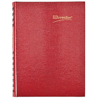 Brownline CB389C 5 3/4 inch x 8 1/4 inch Red 2020 CoilPro Daily Planner