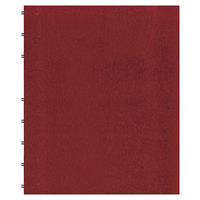 Blueline AF1115083 11 inch x 9 1/16 inch Red College Rule 1 Subject MiracleBind Notebook - 75 Sheets
