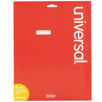 Universal UNV80110 1/2 inch x 1 3/4 inch White Permanent Labels - 2000/Pack