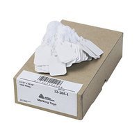 Avery 12205 1 1/2 inch x 15/16 inch White Medium Weight Paper Marking Tag - 1000/Box