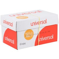 Universal Office UNV28110 11 inch x 17 inch White 20# Copy Paper - 5/Case