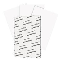Springhill 015110 11 inch x 17 inch White Pack of 90# Index Card Stock - 250/Pack