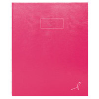 Blueline A7150PNK4 9 1/4 inch x 7 1/4 inch Bright Pink College Rule 1 Subject NotePro Notebook - 75 Sheets