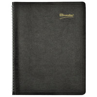 Brownline CB1262BLK 8 1/2 inch x 11 inch Black December 2019 - January 2021 Essential Collection 14-Month Planner