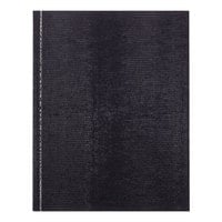 Rediform Office A7BLU 9 1/4 inch x 7 1/4 inch Executive Blue College Rule Notebook 150 Sheets