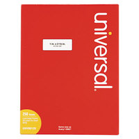 Universal UNV80120 1 inch x 2 5/8 inch White Permanent Labels - 7500/Box