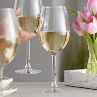 Acopa 16.5 oz. Blanc Wine Glass - 12/Case