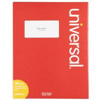 Universal UNV80107 2 inch x 4 inch White Permanent Labels - 1000/Box