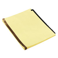 Universal UNV20822 Leather-Look 31-Tab Preprinted Numerical Tab Dividers