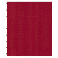 Blueline AF915083 9 1/4 inch x 7 1/4 inch Red College Rule 1 Subject MiracleBind Notebook - 75 Sheets