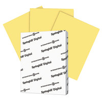 Springhill 055300 8 1/2 inch x 11 inch Buff Pack of 110# Index Card Stock - 250/Pack