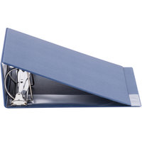 Universal UNV20705 Royal Blue Non-View Binder with 4 inch Slant Rings and Spine Label Holder