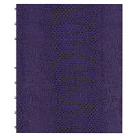 Blueline AF915086 9 1/4 inch x 7 1/4 inch Purple College Rule 1 Subject MiracleBind Notebook - 75 Sheets