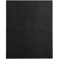 Blueline AF915081 9 1/4 inch x 7 1/4 inch Black College Rule 1 Subject MiracleBind Notebook - 75 Sheets