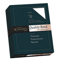 Southworth 3162010 8 1/2 inch x 11 inch 20# Quality Bond #1 Sulphite Paper - 500/Pack