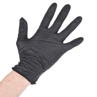 NitroMax Nitrile Gloves 5 Mil Thick Small Powder-Free