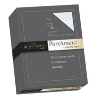 Southworth 964C 8 1/2 inch x 11 inch Blue Box of 24# Parchment Specialty Paper   - 500/Sheets