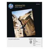 Hewlett-Packard Q7853A 8 1/2 inch x 11 inch Glossy Advanced Pack of 56# Photo Paper - 50/Sheets