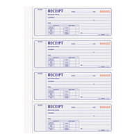 Rediform Office 8L816 2-Part Carbonless Flexible Cover Numbered Receipt Book with 400 Sheets