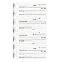 Rediform Office 23L115 2-Part Carbonless Money and Rent Unnumbered Receipt Book with 200 Sheets