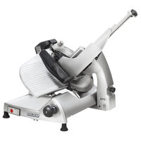 Hobart HS8-1 13 inch Manual Slicer with Interlocks and Removable Knife - 1/2 hp