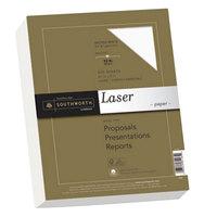 Southworth SOU348C 8 1/2 inch x 11 inch Wicked White 32# Premium Laser Paper