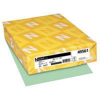Neenah 49561 Exact 8 1/2 inch x 11 inch Green Pack of 110# Index Paper Cardstock - 250/Pack