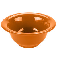 GET B-105-PK Diamond Harvest 10 oz. Pumpkin Melamine Bowl - 48/Case