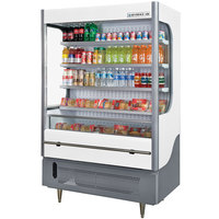 Beverage-Air VM18-1-W VueMax 51 inch White and Gray Air Curtain Merchandiser