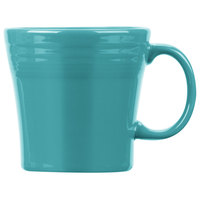 Homer Laughlin 1475107 Fiesta Turquoise 15 oz. Tapered Mug   - 12/Case