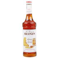 Monin 750 mL Premium Honey Flavoring Syrup