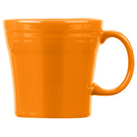 Homer Laughlin 1475325 Fiesta Tangerine 15 oz. Tapered Mug   - 12/Case