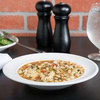 Tuxton CWD-090 Concentrix 12 oz. White China Soup / Pasta Bowl - 24/Case