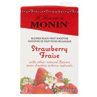 Monin 46 oz. Strawberry Fruit Smoothie Mix