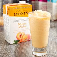 Monin 46 oz. Peach Fruit Smoothie Mix